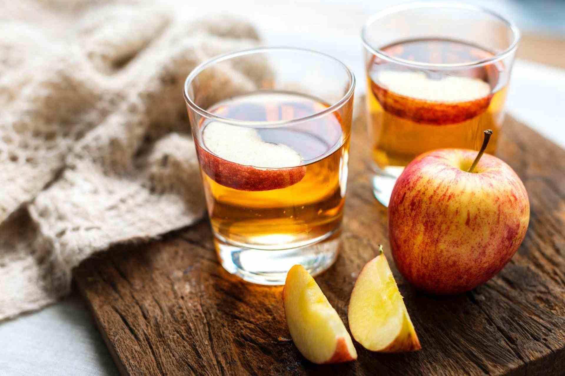 much apple cider vinegar