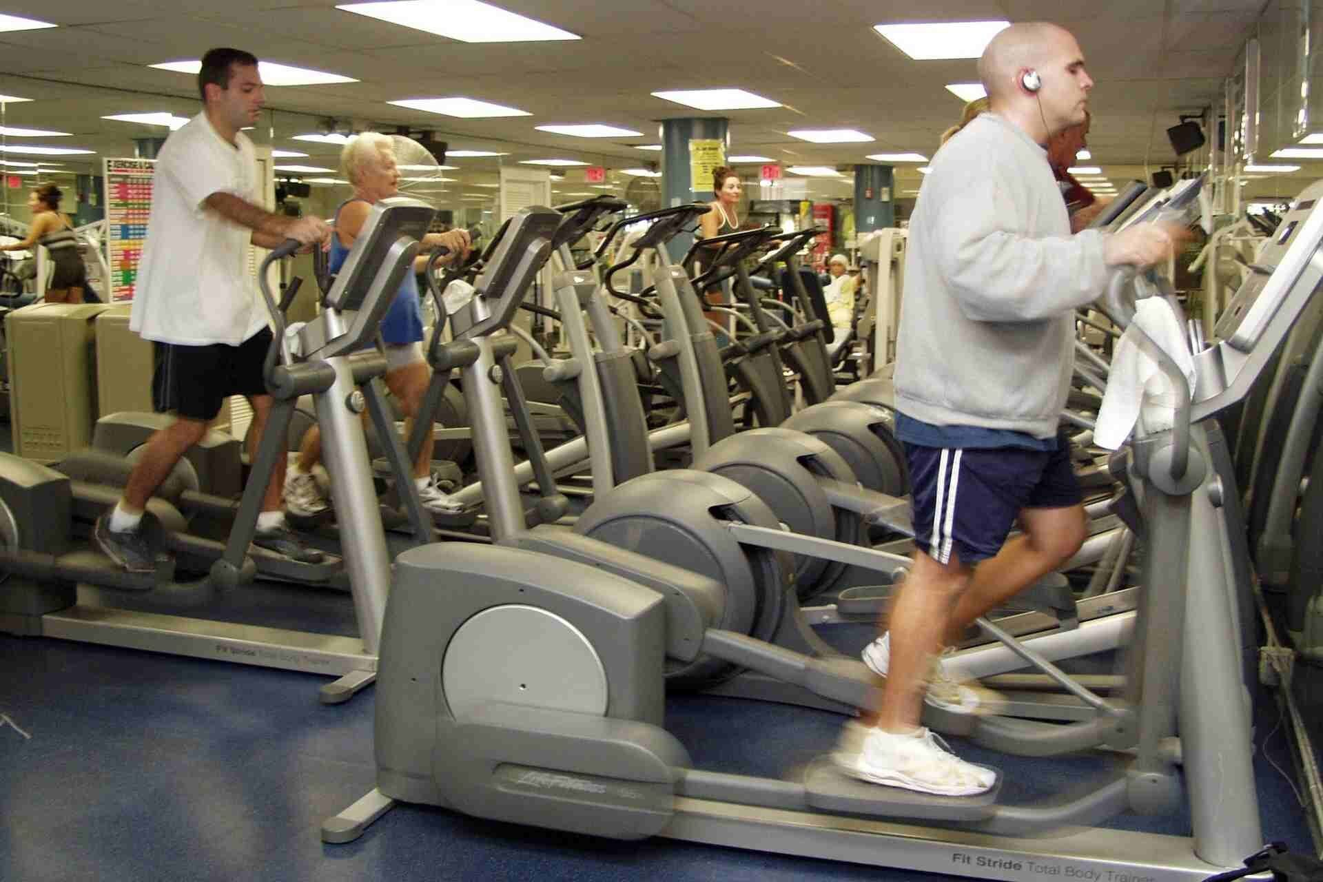 elliptical machine workout